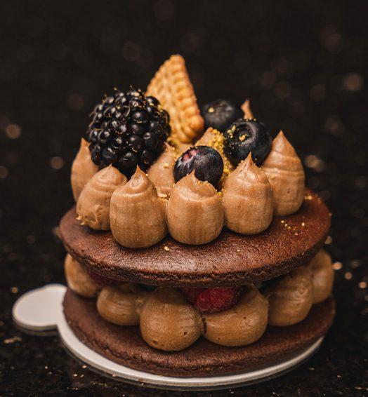 Mini tort biscuiti